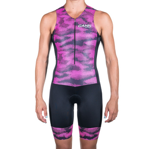 WOMEN'S CAMO PINK ULTRA TRI SUIT