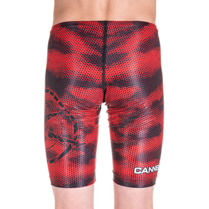 BOYS CAMO RED JAMMERS