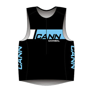CANN Ultra Singlet Women's Black/Blue