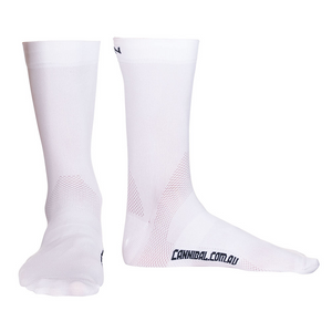 Cannibal Arch Support Sock Mid Length White