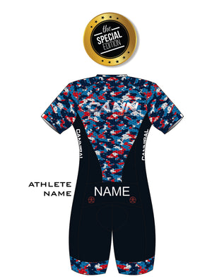 WOMEN'S SPECIAL EDITION FRANCE IRONMAN PRO ELITE SUIT