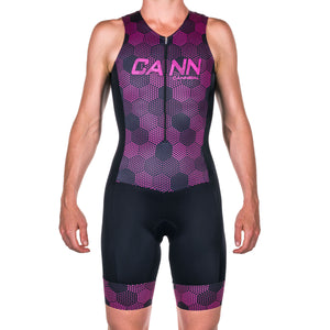 WOMEN'S HEXHAM PINK ULTRA TRI SUIT