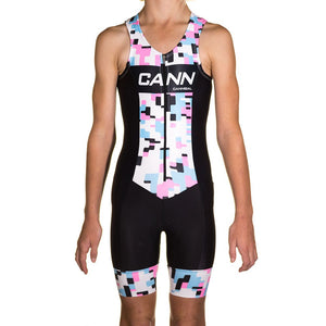 JUNIOR TRI SUIT PINK CAMO