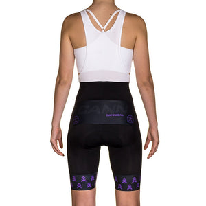 WOMEN'S APACHE PURPLE BIB & BRACE