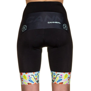 WOMEN'S FLEUR DE SQUELETTE MINT CYCLE SHORT