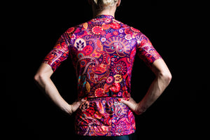 WOMENS MANDALA ELITE SLEEVED TRI TOP
