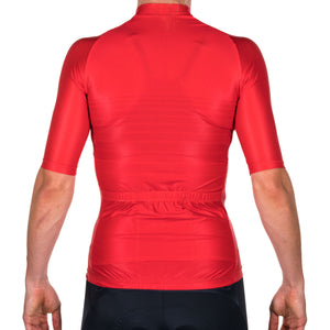 WOMENS LINE FEVER - RED AERO JERSEY
