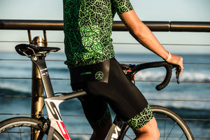 MAYHEM GREEN CYCLE SHORTS