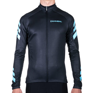 APACHE BLUE WINTER LONG SLEEVE JERSEY