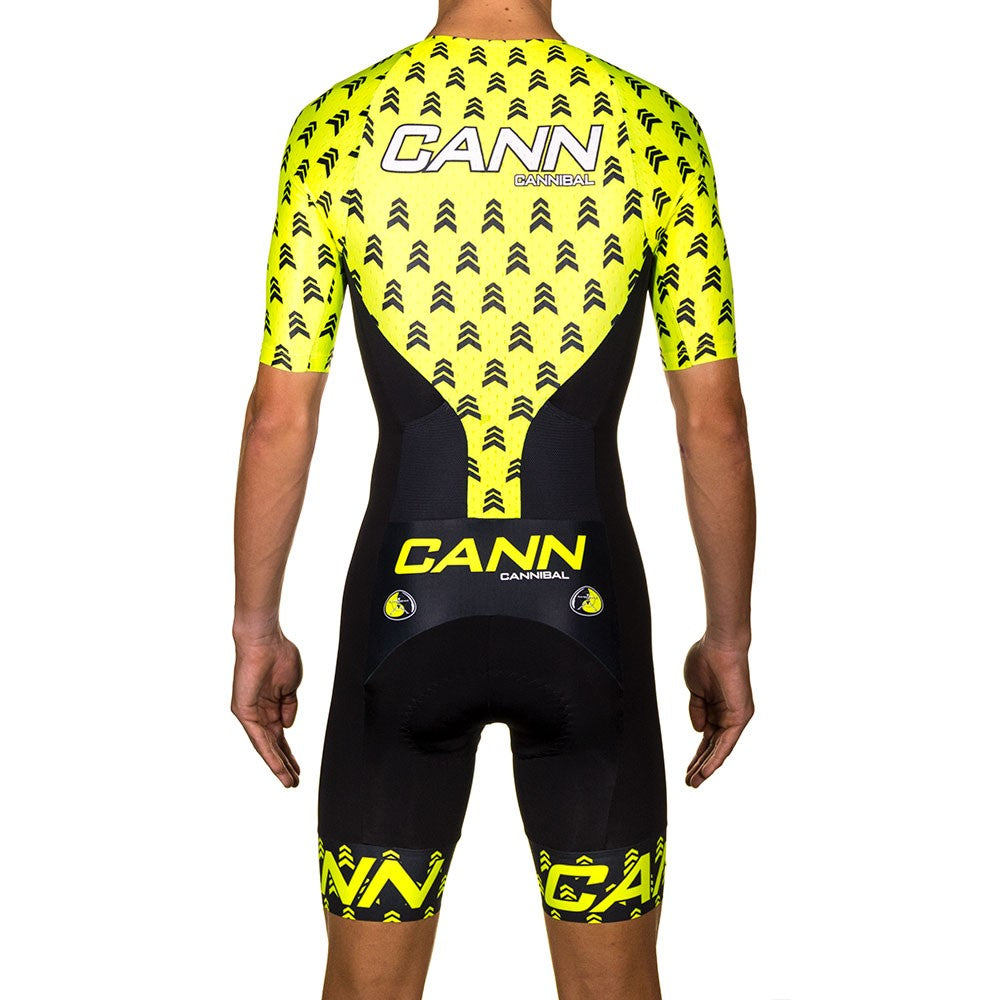 943b16313 APACHE YELLOW ELITE SLEEVED TRI SUIT - Cannibal Online