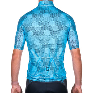 HEXHAM BLUE RACE CYCLE JERSEY