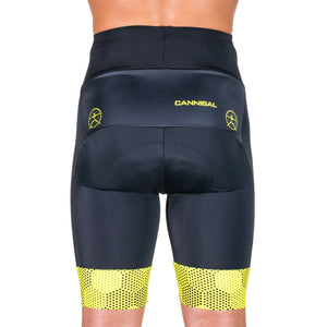 HEXHAM YELLOW CYCLE SHORTS