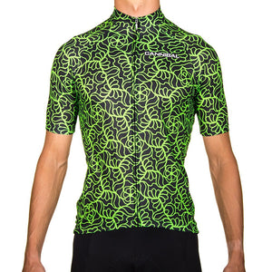 MAYHEM GREEN CYCLE JERSEY