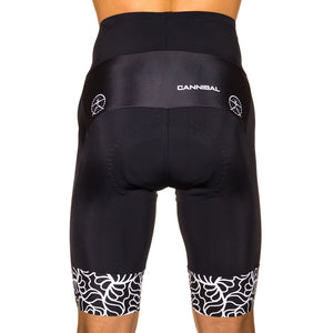 MAYHEM WHITE CYCLE SHORTS