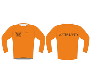CUSTOM ADULTS WATER SAFETY LONG SLEEVE WET SHIRT