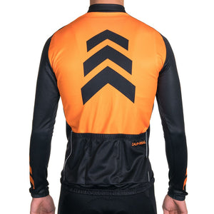 APACHE ORANGE WINTER LONG SLEEVE JERSEY