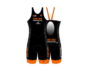 Custom Name -  Team T-Rex Ladies Keyhole Tri Suit