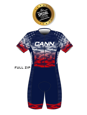 WOMEN'S SPECIAL EDITION USA IRONMAN PRO ELITE SUIT