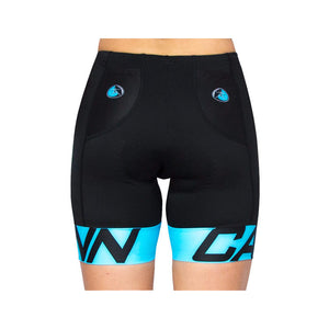 WOMEN'S CANN ULTRA TRI SHORTS FLUORO BLUE