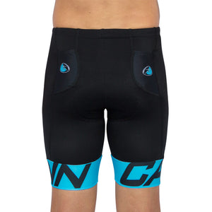 CANN ULTRA TRI SHORTS FLUORO BLUE