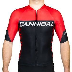 CANN Elite Sleeved Tri Top Red