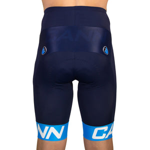 WARP CYCLE SHORTS BLUE
