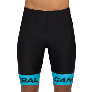 JUNIOR CANN FLUORO BLUE CYCLE SHORTS