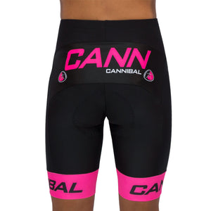 JUNIOR CANN FLUORO PINK CYCLE SHORTS