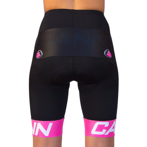 WOMEN'S WARP CYCLE SHORT PINK