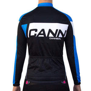 WOMEN'S CANN WINTER LONG SLEEVE JERSEY BLUE