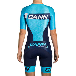 WOMEN'S WARP ELITE TRI SUIT BLUE