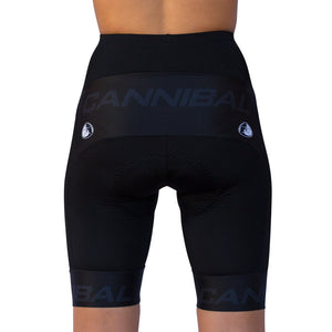 WOMEN'S BLACK ON BLACK CYCLE SHORT