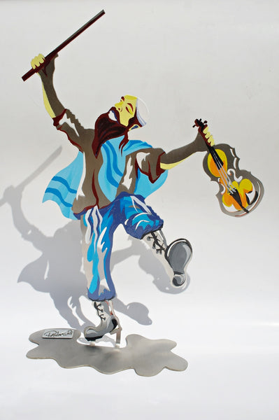 The Fiddler sculpture - joyart gallery - 1