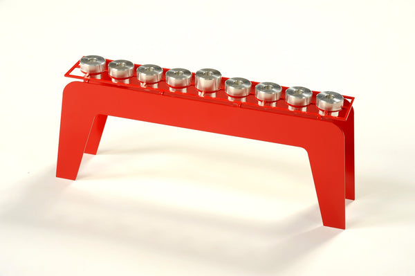 Fine Hanukkah Menorah - metal art menorah from Israel - joyart gallery - 4