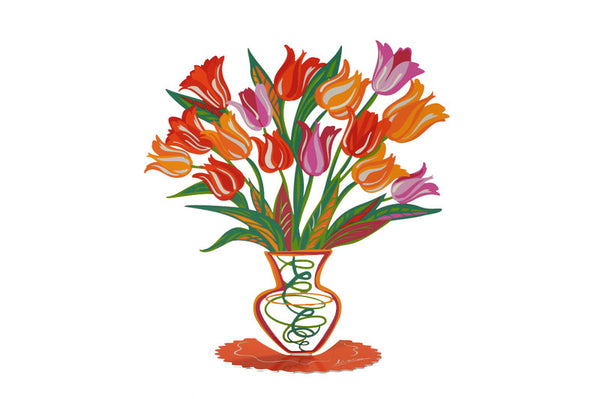 Orange Tulip - joyart gallery - 1