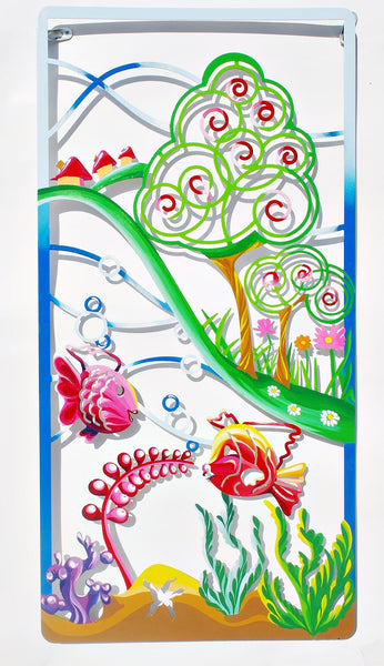 The Fish - metal artwork - joyart gallery - 1