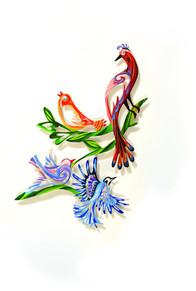 Medium Wall Birds 11 - metal wall artwork - joyart gallery - 1