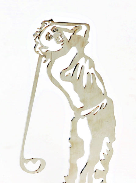 The Golfer Bookend - artistic bookend - joyart gallery - 1