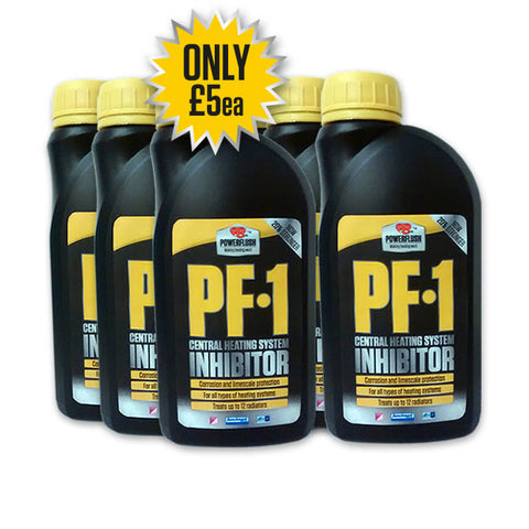 6 x Powerflush PF-1 Inhibitor - 500ml
