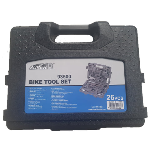 SuperB Tool Kit 93500 26 Pieces