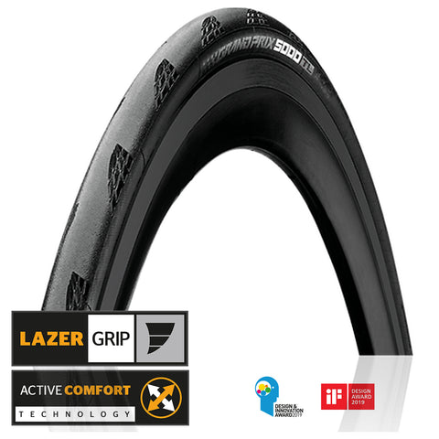 Continental GP 5000 Road Tubeless Tires (Pair) - Folding