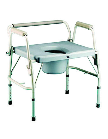 Bariatric Drop-Arm Commode #650