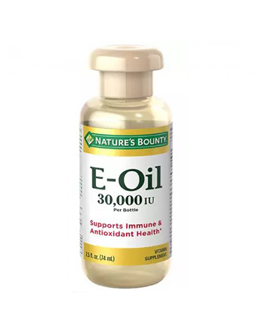 Nature's Bounty Vitamin E-Oil 30,000 IU, 2.5 Oz