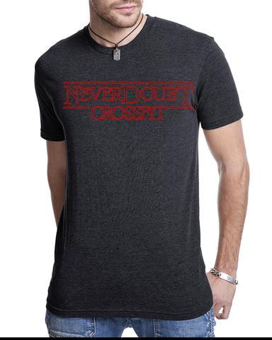 CrossFit NeverDoubt StrangerCNFD Men's Tri-Blend T-Shirt