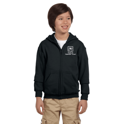 Youth Zip Hoodie - Montessori School