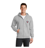 FLBC Grey Full Zip Sweatshirts **ADULT & YOUTH SIZES**