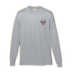 Grey Long Sleeve 100% Polyester