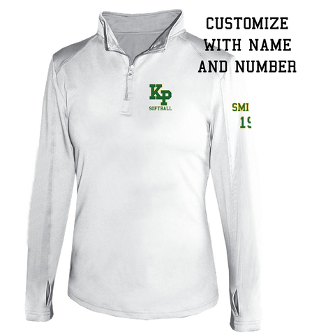 KP Softball Polyester Quarter Zip - Mens & Ladies Styles