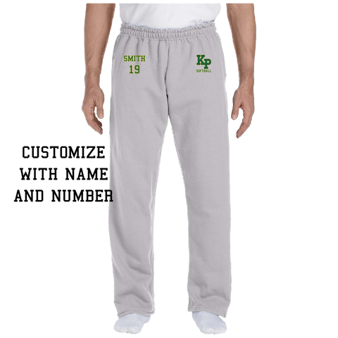 KP Softball Open Bottom Sweatpants