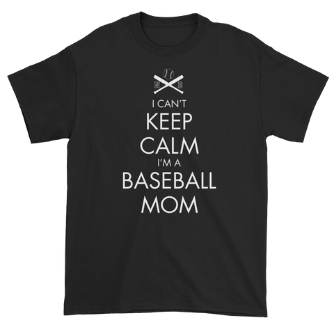 FAN GEAR Norton Baseball I Can't Keep Calm Baseball Mom T-Shirt